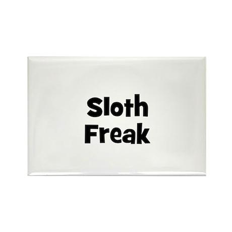 Sloth Freak Rectangle Magnet