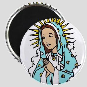 Virgin Mary Magnet
