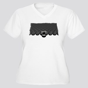 Angry Kettlebells Women's Plus Size V-Neck T-Shirt