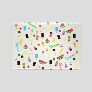Summer pattern Magnets