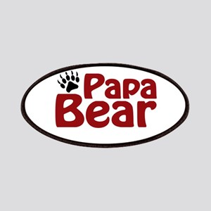 Papa Bear Claw Patches