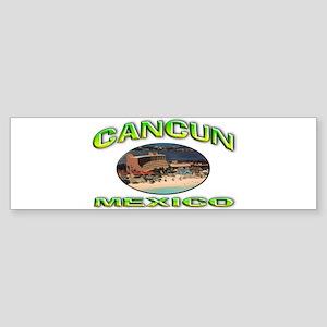 Cancun, Mexico Sticker (Bumper)