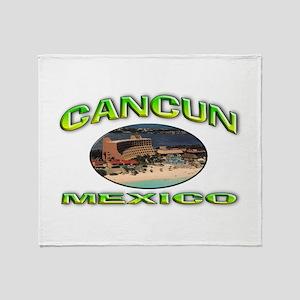 Cancun, Mexico Throw Blanket