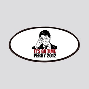 it's go time, rick perry 2012 Patches
