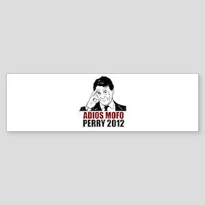 Adios Mofo Perry 2012 Sticker (Bumper)
