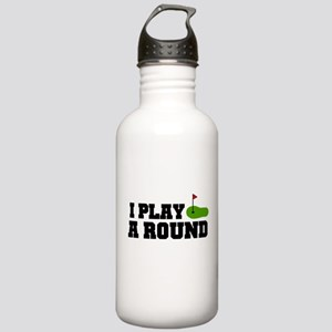 'I Play A Round' Stainless Water Bottle 1.0L