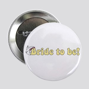 Yellow Bride to Be Button