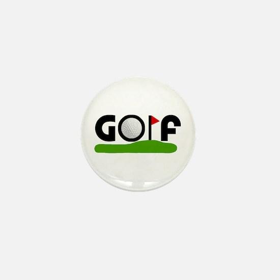 'Golf' Mini Button