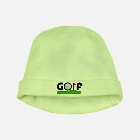 'Golf' baby hat