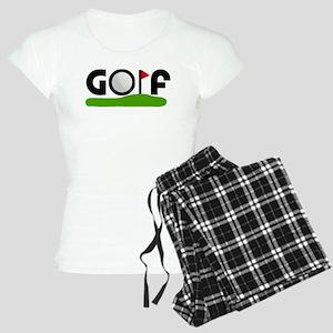 'Golf' Women's Light Pajamas