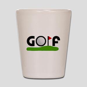 'Golf' Shot Glass
