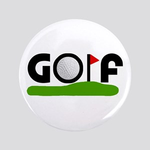 "'Golf' 3.5"" Button"