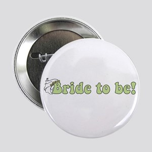 Green Bride to Be Button