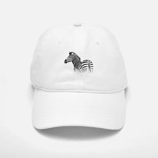 Zebra Baseball Baseball Cap