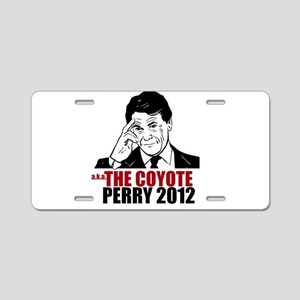 the coyote perry 2012 Aluminum License Plate