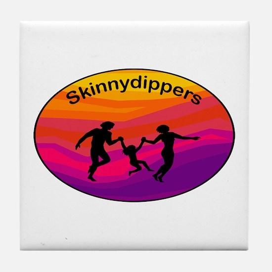 Skinnydipper Logo Tile Coaster