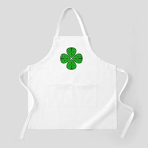 4 Leaf Celtic Apron