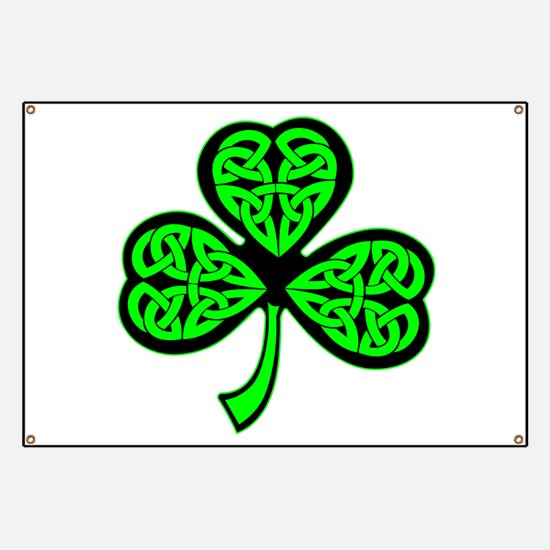 3 Leaf Celtic Banner