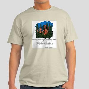 World Peace T-Shirt Men's Ash Grey