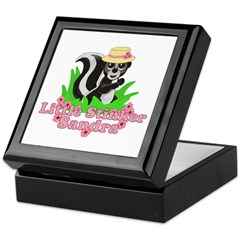 Little Stinker Sandra Keepsake Box