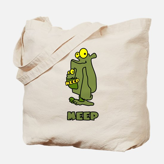 Meep Family Tote Bag