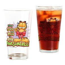 My Awesomeness Drinking Glass