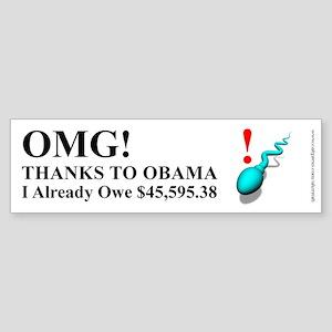 Future Obama Taxpayer, Sticker (Bumper)