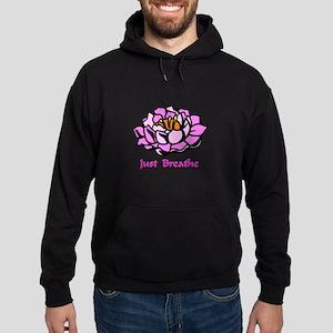 Just Breathe Gifts Hoodie (dark)