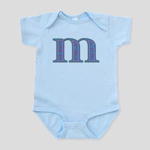 M Blue Glass Infant Bodysuit