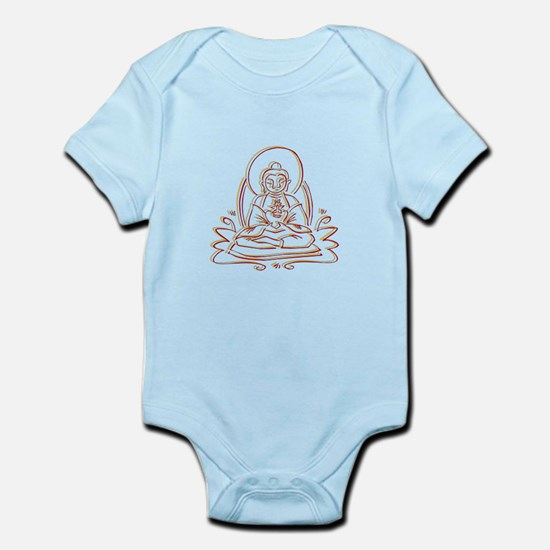 Buddha Silhouette Gifts Infant Bodysuit