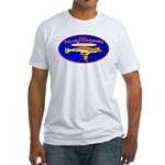 Yellow SubMorons Fitted T-Shirt