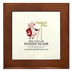 Pigling Bland Framed Tile