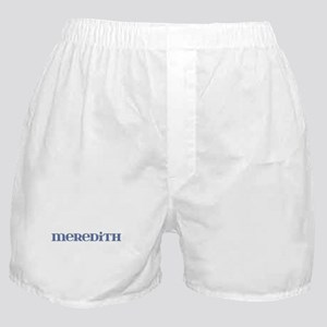 Meredith Blue Glass Boxer Shorts