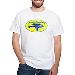Yellow SubMorons White T-Shirt