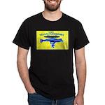 Yellow SubMorons Black T-Shirt