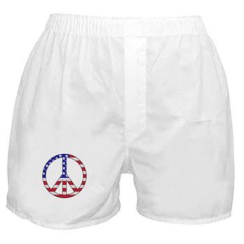 Peace is Patriotic Boxer Shorts