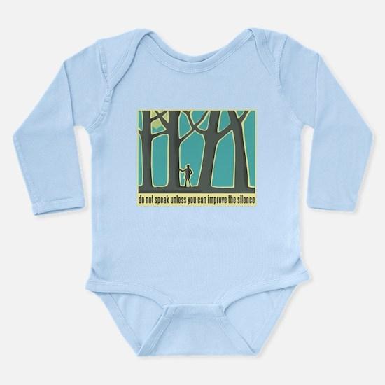 John Muir Quote Long Sleeve Infant Bodysuit