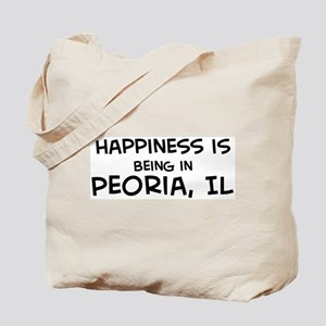 Happiness is Peoria Tote Bag