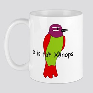 X is for Xenops Mug