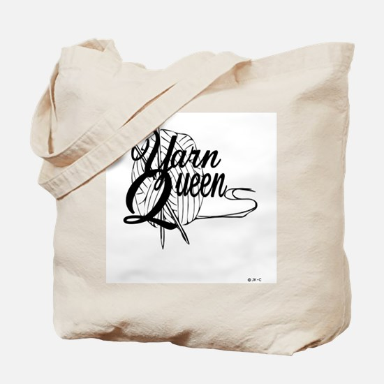 Cute Knitting queen Tote Bag