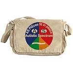 Autism symbol Messenger Bag