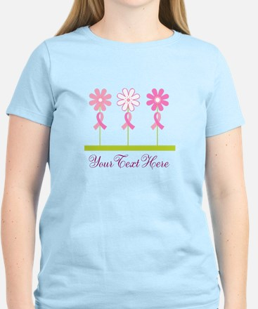 Pink Ribbon Personalized Breast Cancer Women's Lig