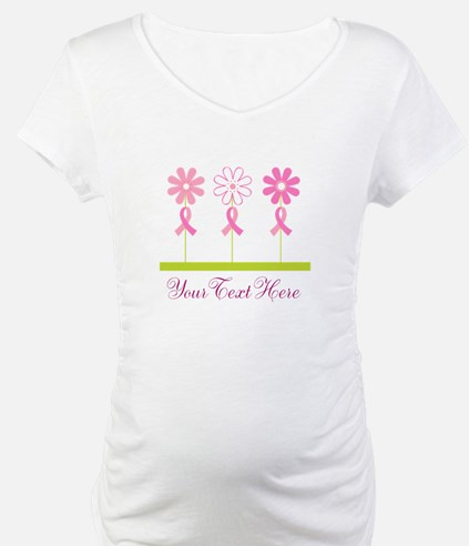 Pink Ribbon Personalized Breast Cancer Shirt