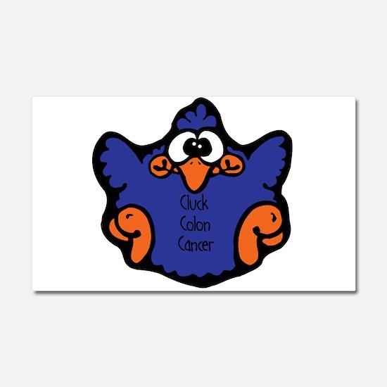 Colon Cancer Car Magnet 20 x 12