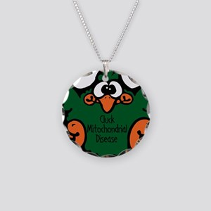 Mitochondrial Disease Necklace Circle Charm