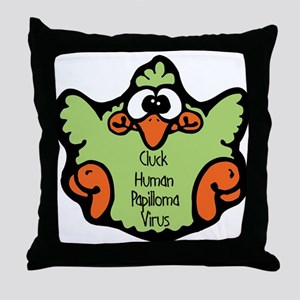 Human Papilloma Virus Throw Pillow