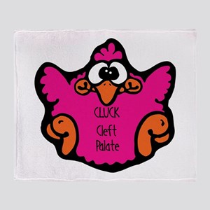 Cleft Palate Throw Blanket