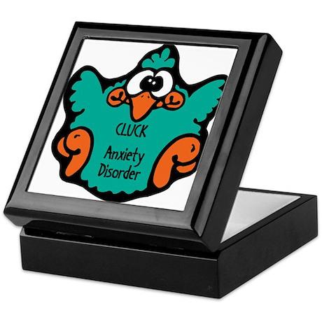 Anxiety Disorder Keepsake Box