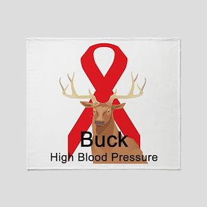 High Blood Pressure Throw Blanket