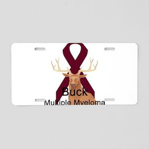 Mulitple Myeloma Aluminum License Plate